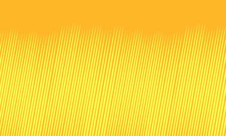 Yellow background with strokes Ilustração