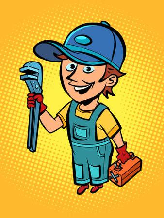 plumber repairman, professional
