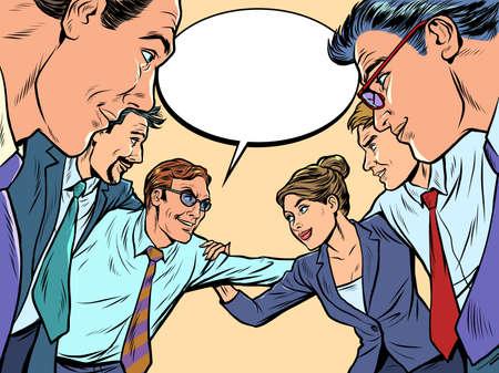 Good business team concept Ilustração