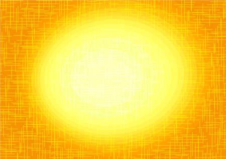 yellow orange background central Ilustração