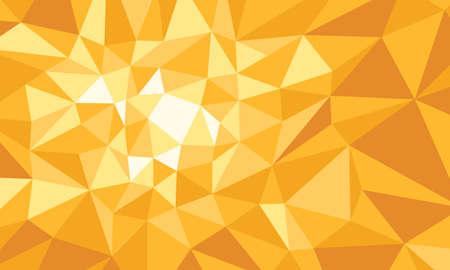 yellow polygonal background