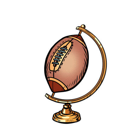 globe international American football or Rugby ball sports equipment