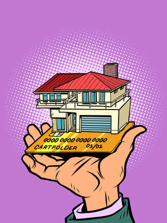 construction and suburban real estate credit or debit bank card