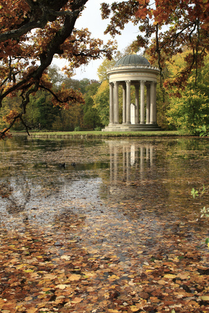 The Apollotemple in the Nymphenburg Castle park photo