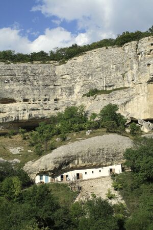 cave house: Una casa grotta in Crimea