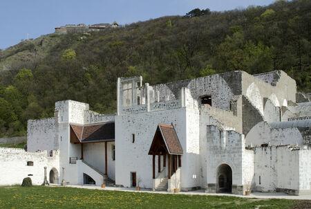 visegrad: Remains of the renaissance palace in Visegrad