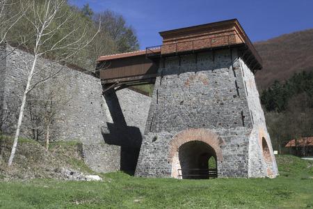 blastfurnace: Old Blast-Furnace near Adamov