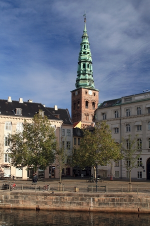 St  Nicolai Church in Copenhagen Stock Photo
