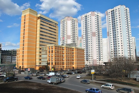 commercial real estate: Modern house and office center on Altufevskoe highway  SAO, Moscow Editorial