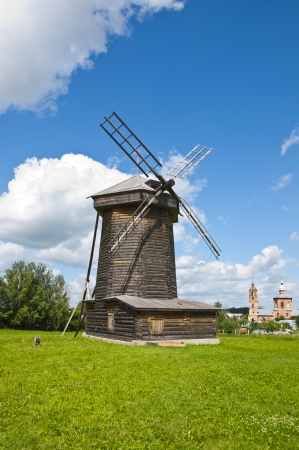 Old wooden windmill Stock Photo - 16602988