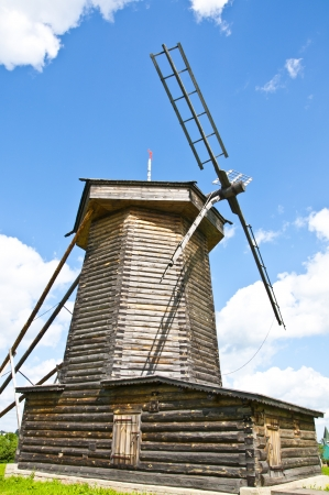Old wooden windmill Stock Photo - 16602964