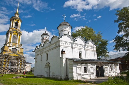 Old church in Russian Suzdal Stock Photo