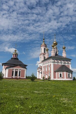 An old orthodox church in Suzdal