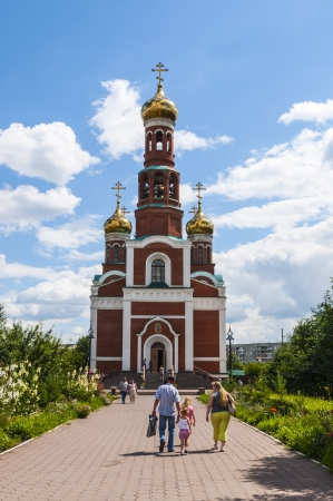 Russian Orthodox Cathedral in Omsk