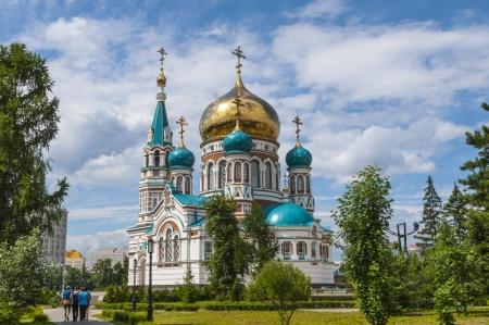 Central Streets of Omsk