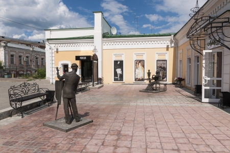 The historic center of Omsk