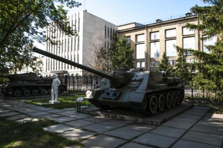 Soviet tank from World War II T-34