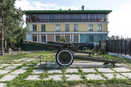 Soviet gun of World War II