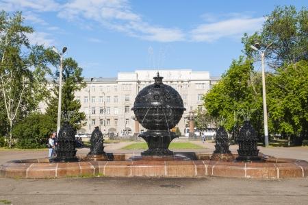 plaza de la cibeles: Plaza de la Fuente
