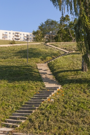 staircases: stairs to the hill
