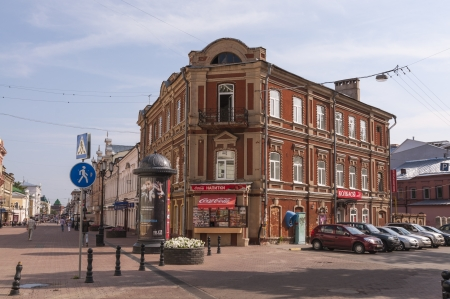 novgorod: Nizhny Novgorod street