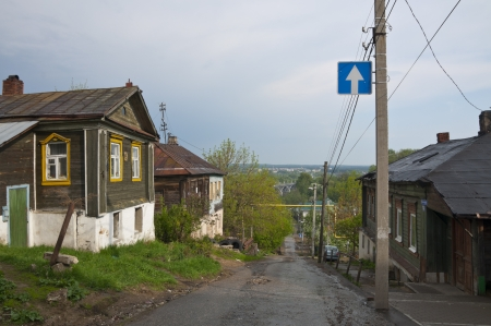 home in a Russian provincial town photo