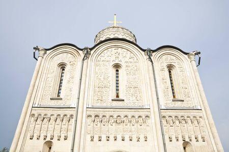 Old Russian orthodox church in Vladimir Stock Photo