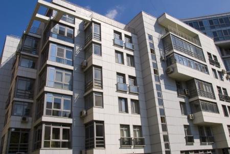 modern high-rise apartment building premitsm class Stock Photo - 17334721