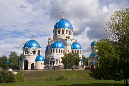 Orthodox church in Moscow Editorial