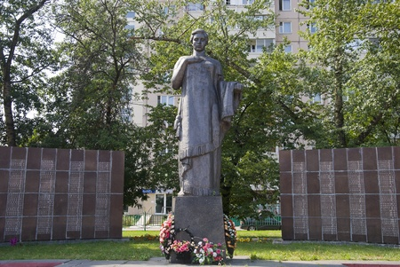 Monument to the dead of World War II