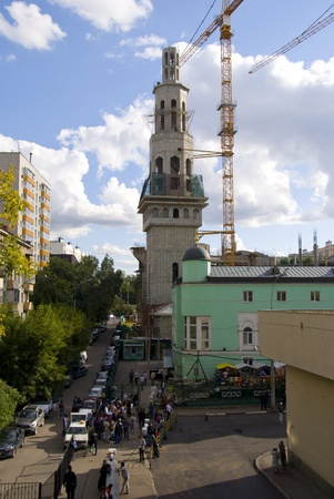 Construction of a mosque in Moscow