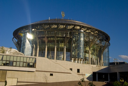 Modern building a concert hall in Moscow Stock Photo - 17356470
