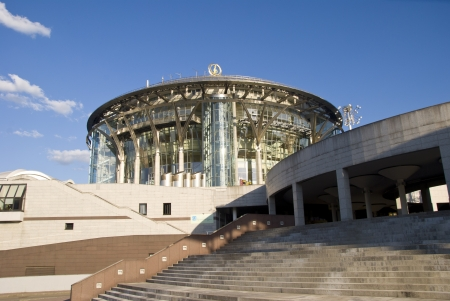 Modern building a concert hall in Moscow Stock Photo - 17356465