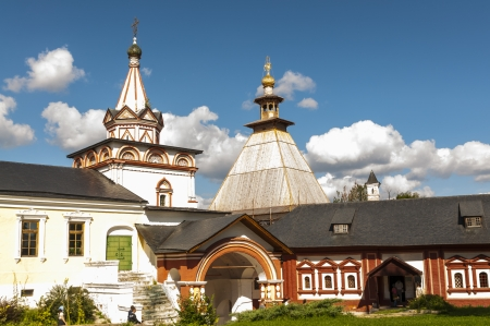 Orthodox monastery in Zvenigorod near Moscow