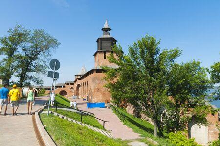 novgorod: Kremlin in Nizhny Novgorod