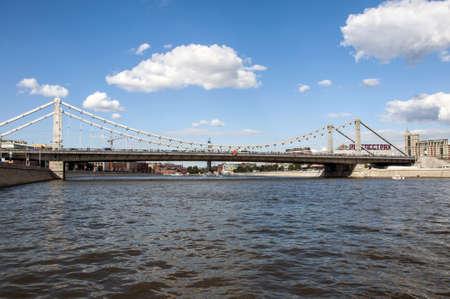 crimean: Crimean bridge on Moscow river