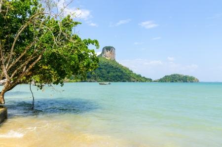 water s edge: Spiaggia Penisola Railey Krabi Thailandia