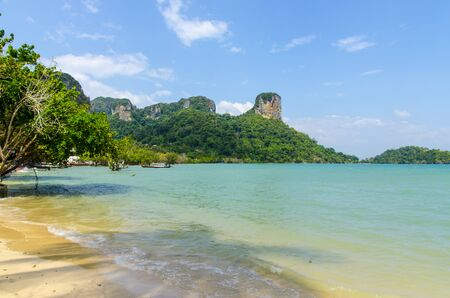 Beach Peninsula Railey Krabi Thailand