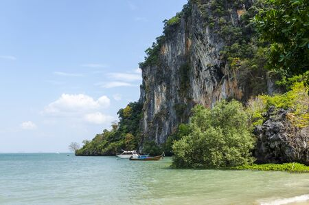 railey: Beach Peninsula Railey Krabi Thailand