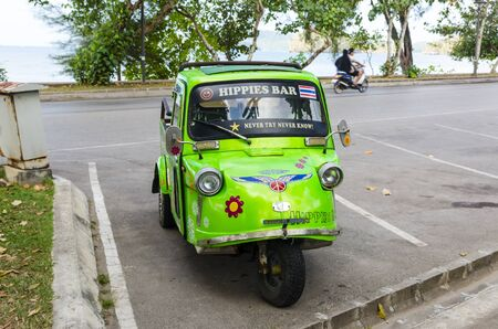 Motorcycle  Krabi Thailand