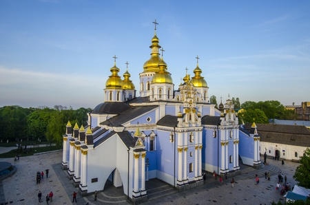 An old orthodox church in the center of Kiev  Stock Photo