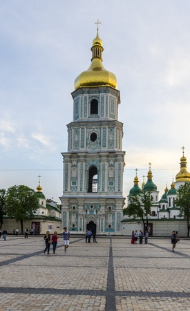 An old orthodox church in the center of Kiev