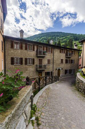 Alpine town of Ponte di Legno, Italy Stock Photo