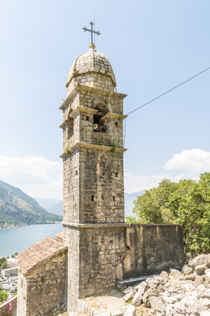 Old stone church in the Balkan Mountains. Montenegro