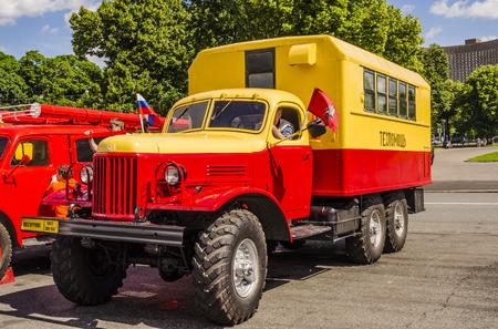 Historischer Retro- LKW sowjetrussischen Produktion