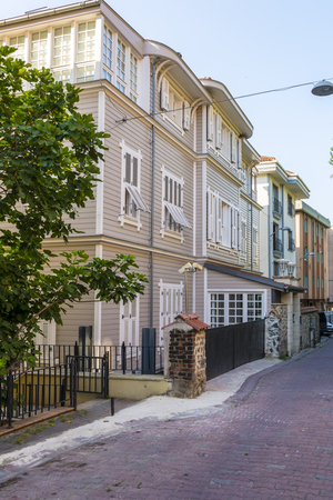 Old houses in the European part of Istanbul