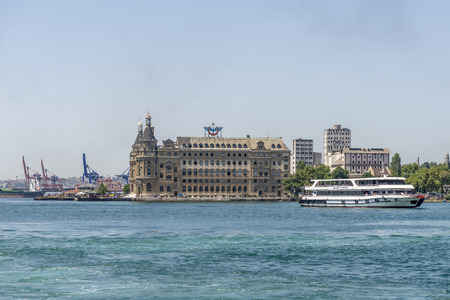 passenger ships: Passenger ships in the Strait of Bosporus Istanbul. Turkey