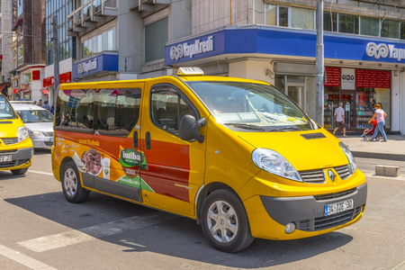 Regular buses in Istanbul. Turkey