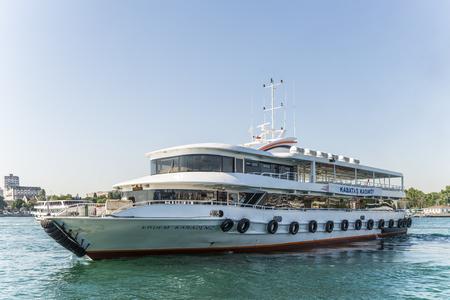 passenger ships: Passenger ships in the Strait of Bosphorus, Istanbul. Turkey