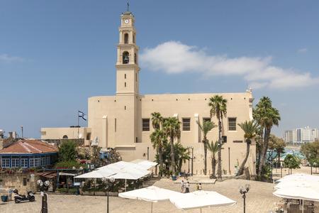 jaffa: Monastery of St. Catherine in Jaffa. Tel Aviv, Israel